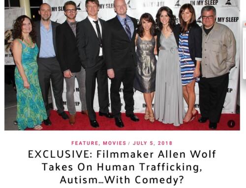 Scenes Media Interviews Filmmaker Allen Wolf