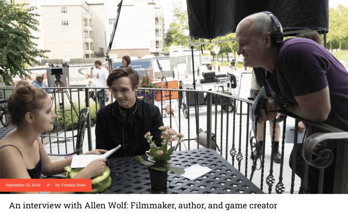 Film Daily Interviews Hooked Filmmaker Allen Wolf